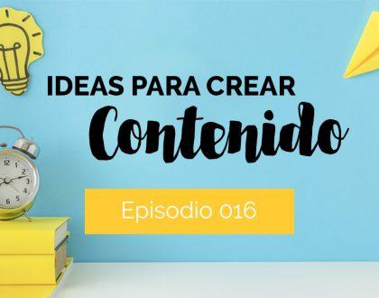 Influencia Creativa: Ideas para crear contenido